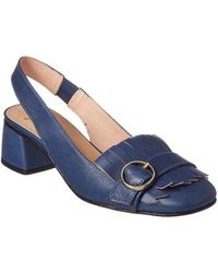 French Sole - Twain Leather Pump - Lyst