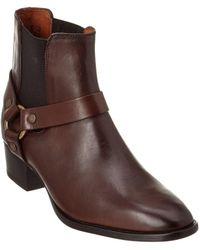Frye - Women's Dara Harness Leather Chelsea Boot - Lyst