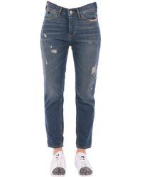 Scotch & Soda - Women's 10078530 Blue Cotton Jeans - Lyst