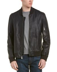 Flynt - Pharrell Leather Coat - Lyst