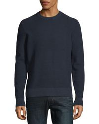 J.Lindeberg - Textured Knitted Jumper - Lyst