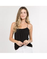 Bungalow 20 - Classic Draw Cord Cami - Lyst