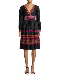 Temperley London - Amity V-neck Dress - Lyst