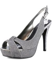 G by Guess   Women's Cathy Slingback Platform Sandals   Lyst