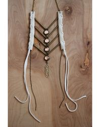 Love Leather - Eternal Maiden Necklace - Lyst