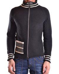 Antonio Marras - Men's Mcbi023002o Black Cotton Cardigan - Lyst