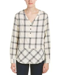 Fifteen Twenty - Mix Match Plaid Shirt - Lyst