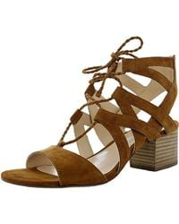 Vince Camuto - Women's Fauna Suede Ankle-high Leather Pump - Lyst
