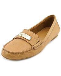 17a01e11220 COACH - Womens Fredrica Leather Closed Toe Loafers - Lyst