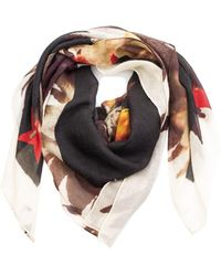 Givenchy - Women's Eagle Cashmere Scarf Large - Lyst