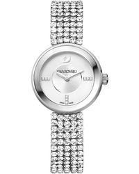 Swarovski - Crystal Plated Stainless Steel Watch - Lyst