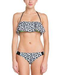 ca054d70938b9 Hurley - Aussie Black Print Bikini Bottom - Lyst