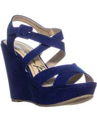 713e6110bc9b79 Lyst - American Rag Womens Rachey Peep Toe Casual Platform Sandals ...