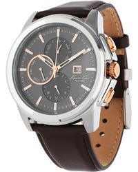 Kenneth Cole - Watch Brown Kc10025916 - Lyst