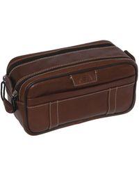 Dopp - Unisex Country Saddle Soft Sided Multi-zip Travel Kit - Lyst