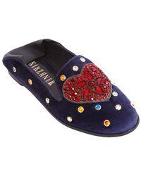 Ivy Kirzhner - Embellished Studded Loafer - Lyst