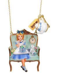 Les Nereides - Alice's Tea Time Necklace - Lyst