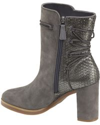 Johnston & Murphy - Womens Adley Suede Almond Toe Ankle Fashion Boots - Lyst