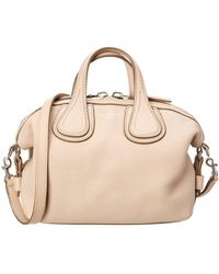 Givenchy - Nightingale Micro Leather Satchel - Lyst