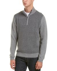 Brooks Brothers - 1/4-zip Wool-blend Pullover - Lyst