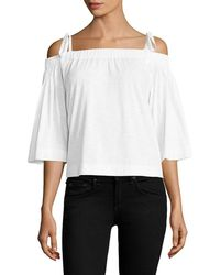 Feel The Piece - Sunset Off-the-shoulder Top - Lyst