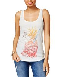 Lucky Brand - Pineapple Graphic Tank Top - Lyst