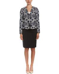 Tahari - Tahari Asl Skirt Suit - Lyst
