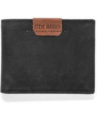 Steve Madden - Dakota Leather Passcase Wallet - Lyst