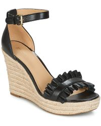 Michael Kors - Womens Bella Wedge Open Toe Casual Ankle Strap Sandals - Lyst