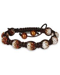 Catherine Malandrino - Shambhala Bracelet With Freshwater Cultured Pearls - Lyst