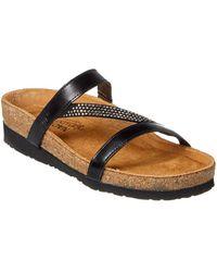 Naot - Hawaii Leather Sandal - Lyst