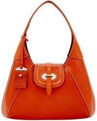 Dooney & Bourke - Florentine Toscana Front Stitch Hobo Shoulder Bag - Lyst