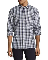 Jack Spade - Clermont Ombre Plaid Sportshirt - Lyst