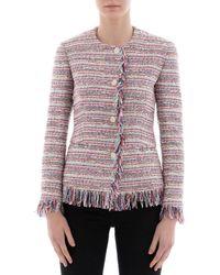 Tagliatore - Women's Multicolor Cotton Jacket - Lyst