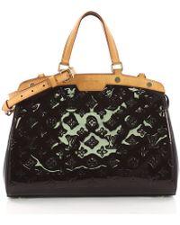 c780350e812b Louis Vuitton - Pre Owned Brea Handbag Monogram Vernis Mm - Lyst