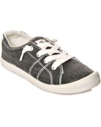 Roxy - Womens Bayshore Low Top Lace Up Fashion Trainers - Lyst