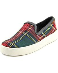 Sam Edelman - Becker Round Toe Canvas Sneakers - Lyst