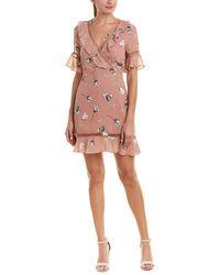 Bardot - Floral A-line Dress - Lyst