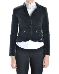 Blugirl Blumarine - Women's Mcbi044004o Black Wool Jacket - Lyst