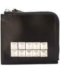 Comme des Garçons - Women's Black Leather Wallet - Lyst
