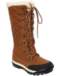 BEARPAW - Women's Tahoe Isabella Leather Waterproof Boot - Lyst