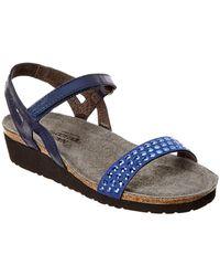 Naot - Lexi Leather Sandal - Lyst