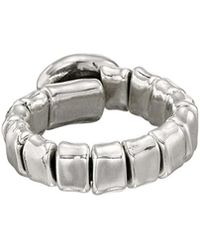 Uno De 50 - Unode50 Grapping Silver Plated Ring - Lyst