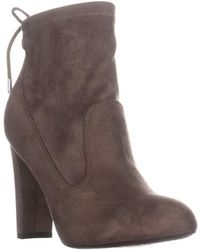 Marc Fisher - Justice2 Ankle Booties, Medium Natural - Lyst