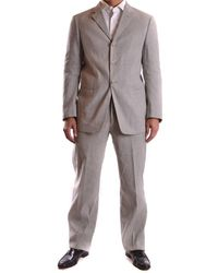 Armani - Men's Mcbi024013o Grey Viscose Suit - Lyst