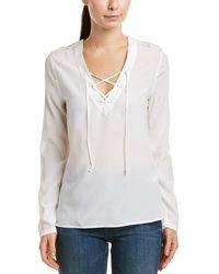 AG Jeans - Bliss Silk Shirt - Lyst