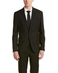 Roberto Cavalli - Wool Suit With Flat Front Pant - Lyst