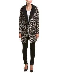 Karen Millen - Giraffe-print Coat - Lyst