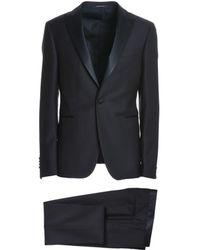 Tagliatore | Men's Blue Wool Suit | Lyst