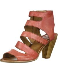 Miz Mooz - Womens Melrose Open Toe Casual Ankle Strap Sandals - Lyst